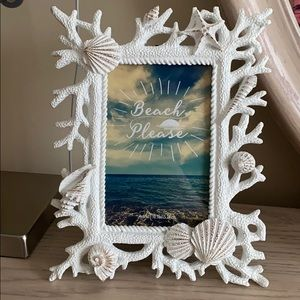 4x6 Beach Themed Picture Frame